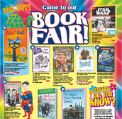 The Scholastic Book Fair is returning!