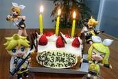 Rin and Len Cake