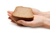1 Slice of bread = 1 oz.