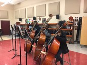 Orchestra students focus on skill work