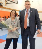 Westampton Campus Teacher of the Year,  Jill Bennett