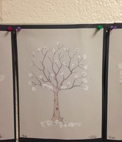 Fingerprint Winter Tree