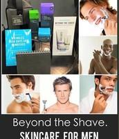 Men have skin too!