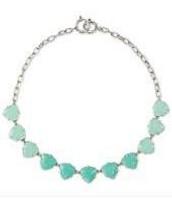 SOLD Somervell Necklace Aqua / Silver
