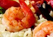 Entree - Arroz con Camarones (Shrimp Rice)