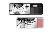 Very cool slider tins for colour cosmetics and it has a custom tooled insert for the colour
