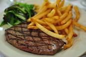 Steak des frites