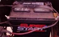 dirty golf cart batteries