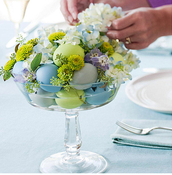 More common flowers that are available in spring when Easter occurs are Peony, Calla Lily and Hydrangea.