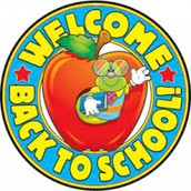 WELCOME TO THE NEW SCHOOL YEAR.