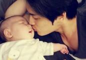 mi esposo y mi hijo jijiji XD
