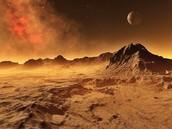 Mountains on Mars