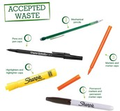 Recycle your Sharpies, pens and lots more