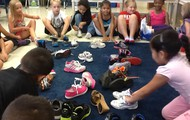 Using our shoes as data in math