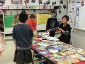 Book Sale in Mrs. Fox's Room