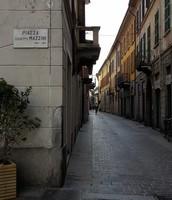 Piazza Mazzini, Como, Italy.