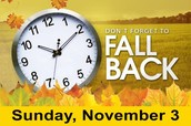 DAYLIGHT SAVINGS TIME REMINDER!