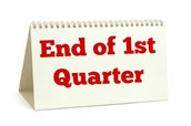 1st Quarter ends Friday, October 9th