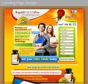 landing page designing services