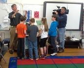 Fifth grade made the news!