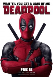 Deadpool now showing in a theater near you!
