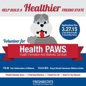 Help Build a Healthier Fresno State