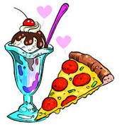are pizza has the the best after tasted ever and when you savor it is a delight and don't get me startedice cream we have all of the ice creams that you could ask for if you come you will love it.
