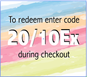 Redeem your $20 OFF for Signing up!