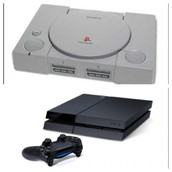 First PlayStation compared to PlayStation 4