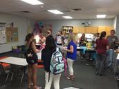 Ms. Freeman's Meet & Greet