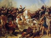 Napoleon invades Europe