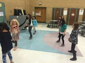 Line Dancing with Ms. B.