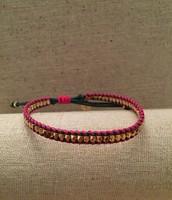Pink Friendship Bracelet - Sale Price $10