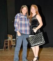 Mrs. Procopio and Anice Henkel