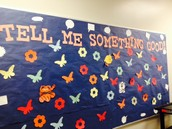"Staff Affirmations -""Tell Me Something Good"""