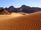 This is the Libyan desert