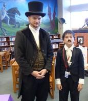 Chad Crews and Edgar Allan Poe