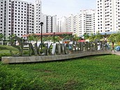 A neighbourhood in Compassvale street