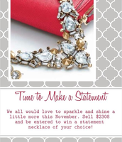 Don't forget about our Time to Make a Statement Challenge
