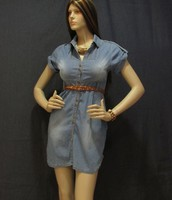 Vestido Dama Chambray