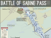 The battle of Sabine pass