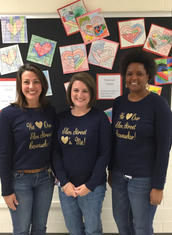 Happy Counselor's Week, Mrs. Pope!  We love you!