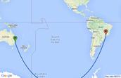 Africa to Australia