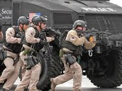 DHS team responding to a situation