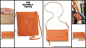 Waverly Petite Fresh Orange/Natural Linen