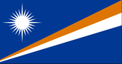 The Marshall Islands flag