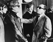 Andy Warhol with friend Tennessee Williams
