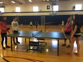 Table Tennis Competition Begins