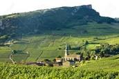 C'est une photo belle de la Bourgogne.
