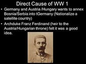 Archduke Fran Ferdinand